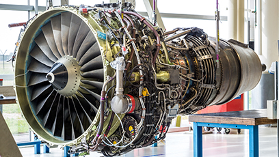 Blasting System For Aircraft Engine Components