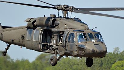 Plastic Blast Media for Bell Helicopter