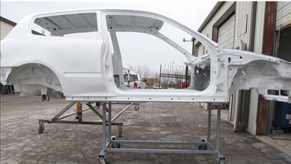 Plastic Media Blast for Automotive Restoration
